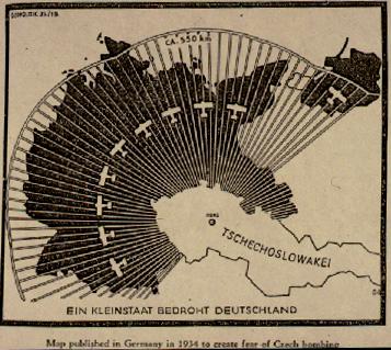 Nazi Propaganda Map